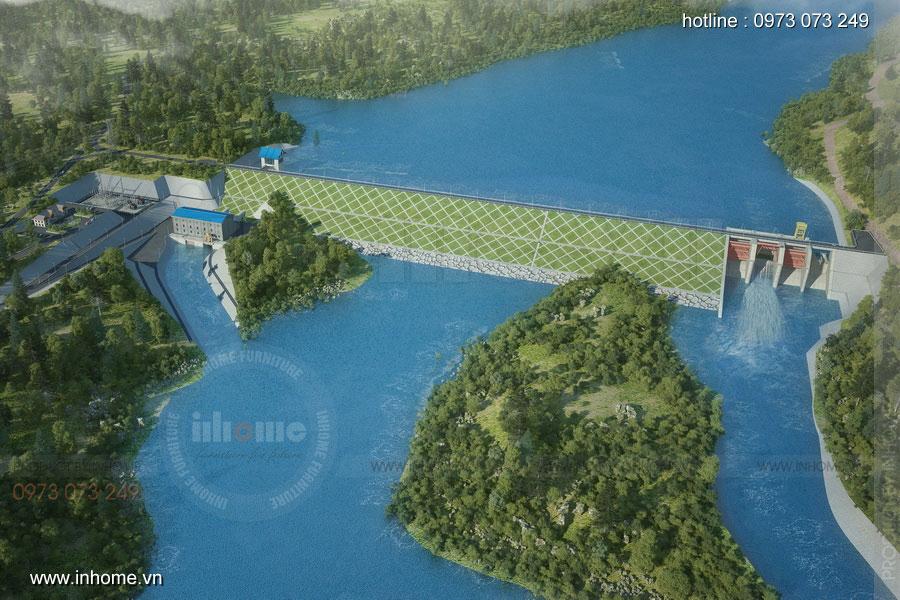 Thiết kế đập thủy điện 05