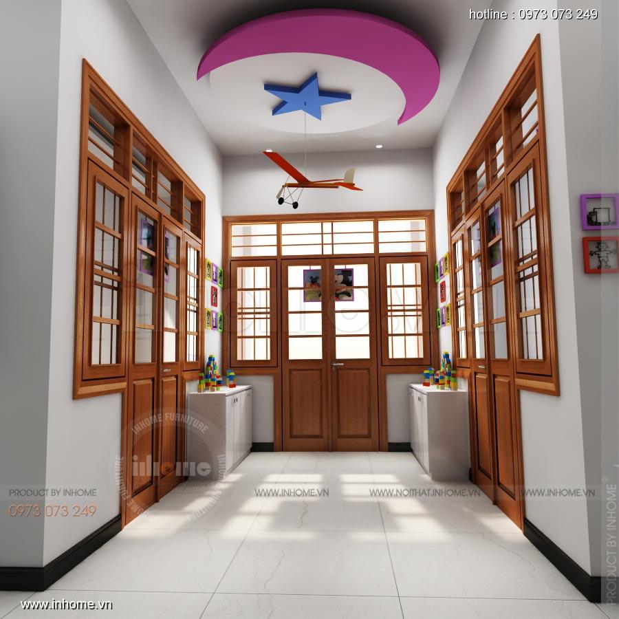 Thiết kế trường mầm non Ngôi Sao, TP Nam Định