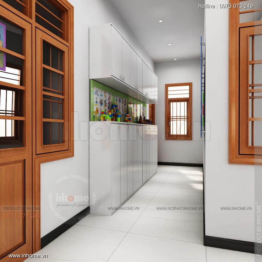 Thiết kế nội thất trường mầm non TP Nam Định