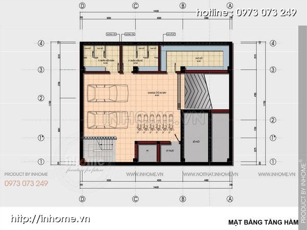 Thiết kế khách sạn 2 sao sang trọng đẳng cấp chuẩn quốc tế 01