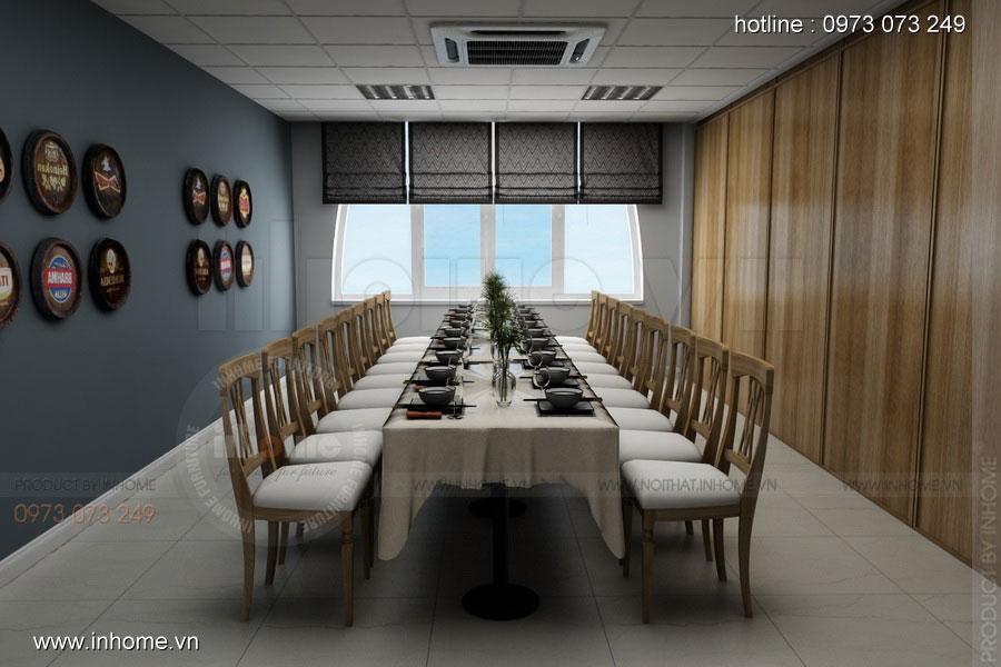 Thiết kế nhà hàng ăn uống đẹp và sang trọng 01