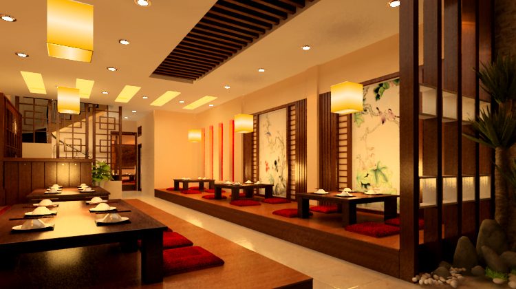 Nhà hàng phong cách Hàn Quốc hiện đại