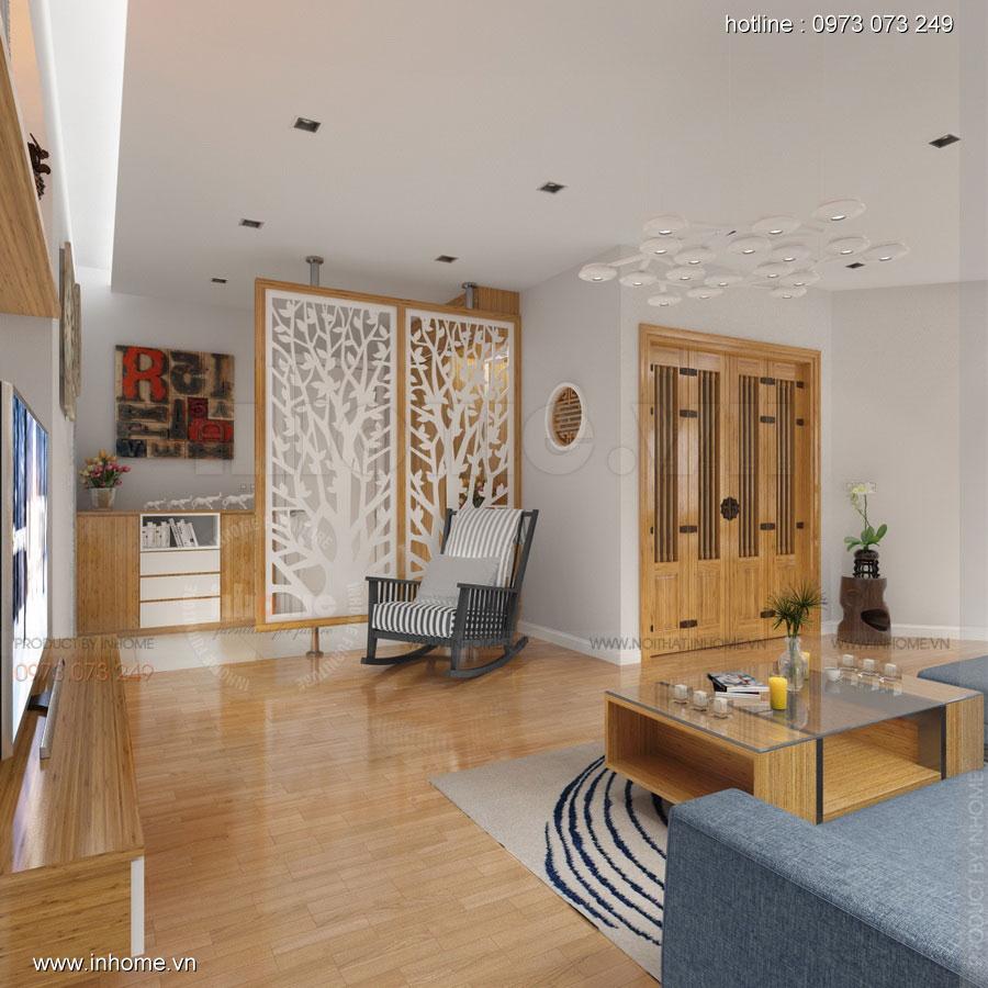 Thiết kế nội thất căn hộ chung cư 100m2 đẹp và phong cách 02
