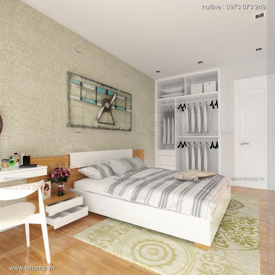 Thiết kế nội thất căn hộ chung cư 100m2 đẹp và phong cách 04
