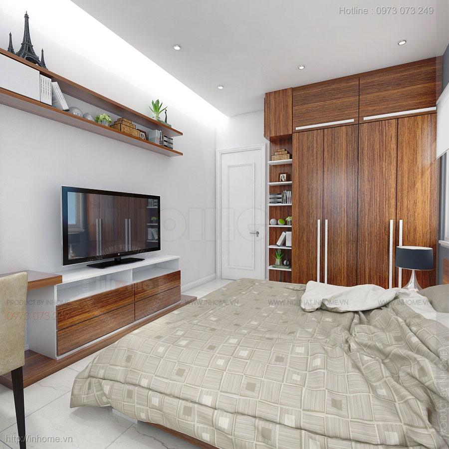 Thiết kế nội thất căn hộ chung cư kim văn kim lũ đầy sáng tạo 02