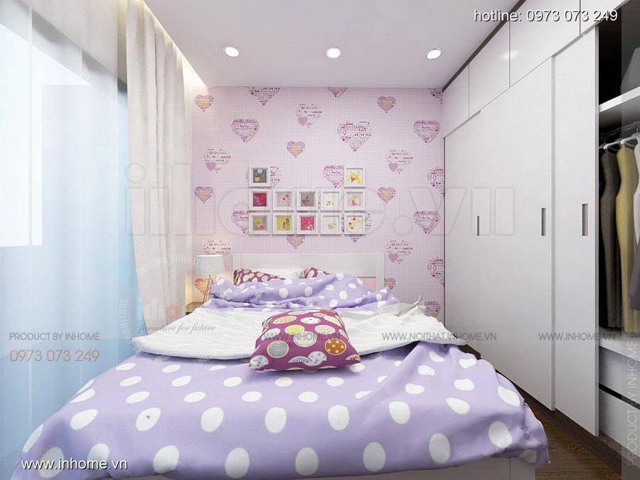 Thiết kế nội thất chung cư căn hộ 70m2 sang trọng tiện nghi 03