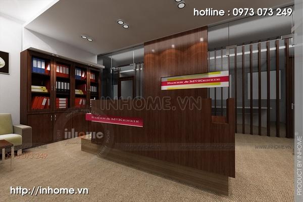 Thiết kế nội thất văn phòng công ty đẹp và sang trọng