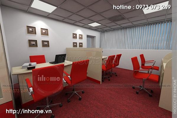 Tư vấn thiết kế nội thất văn phòng không gian nhỏ tiện nghi 01