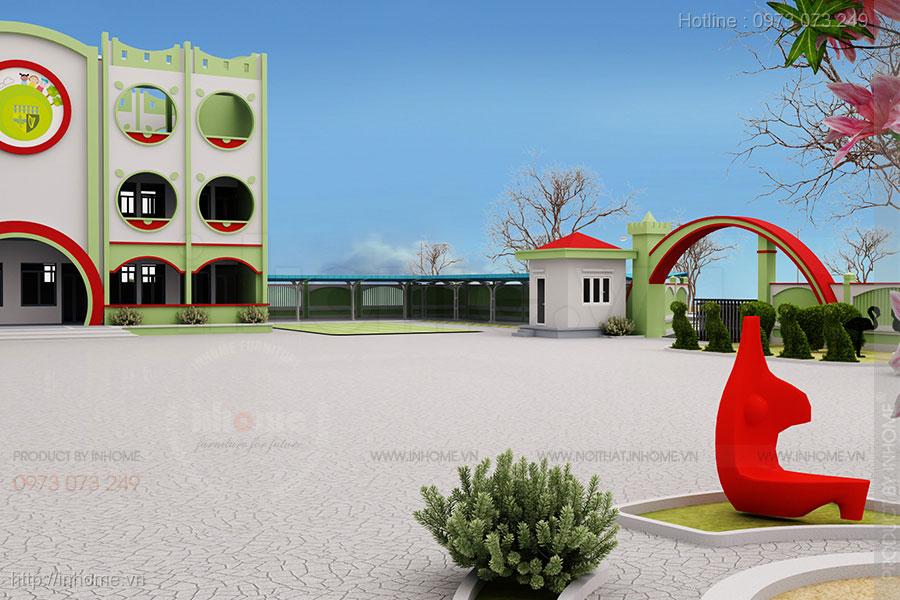 Tư vấn thiết kế trường tiểu học đạt chuẩn quốc gia 6