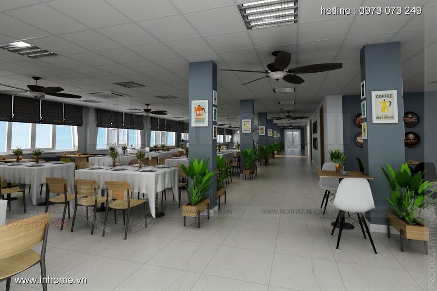 Thiết kế nội thất CANTEEN Đại học Bách Khoa 01
