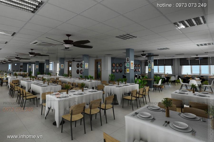 Thiết kế nội thất CANTEEN Đại học Bách Khoa