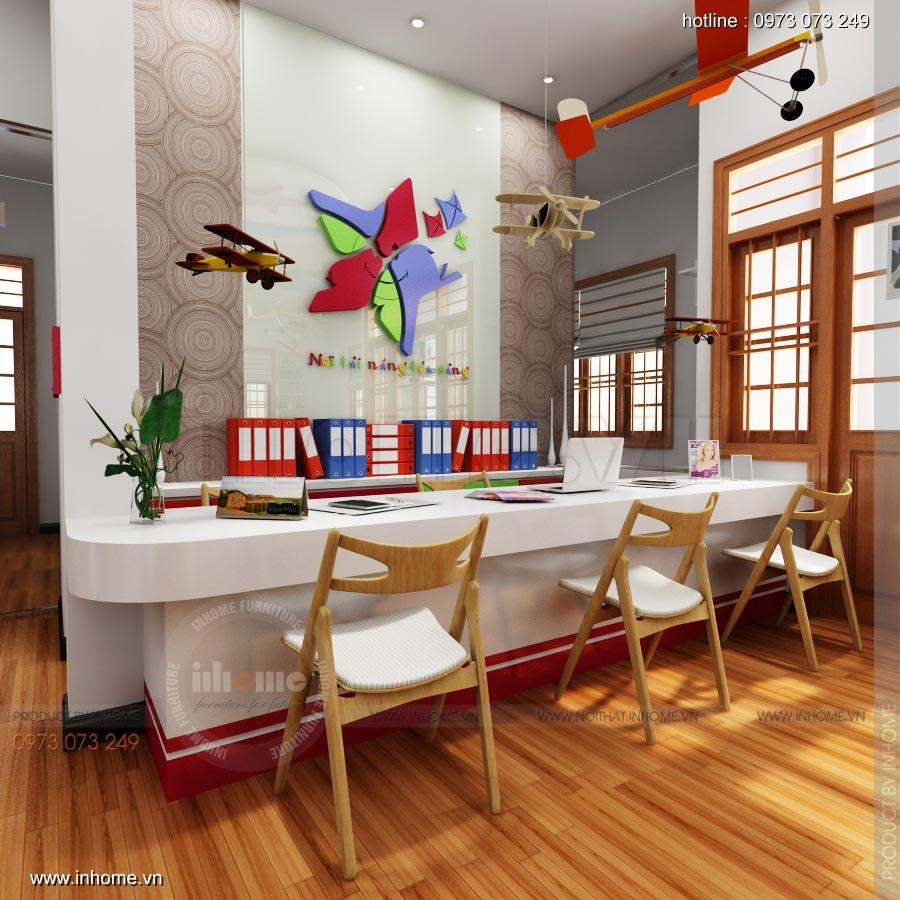 Thiết kế nội thất trường mầm non Ngôi Sao - TP Nam Định 7