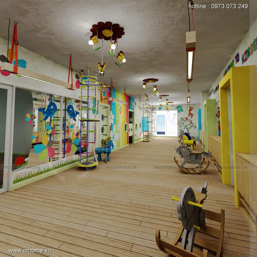 Thiết kế nội thất trường mầm non Đồng Mận Nhỏ 19