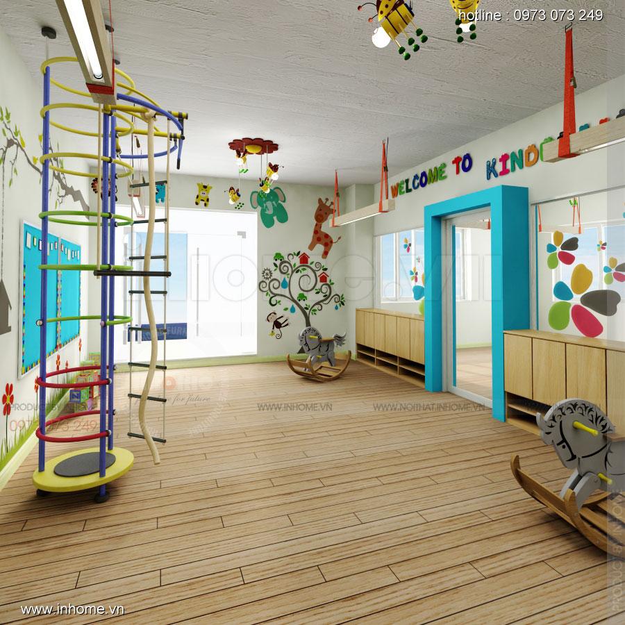 Thiết kế nội thất trường mầm non Đồng Mận Nhỏ 21