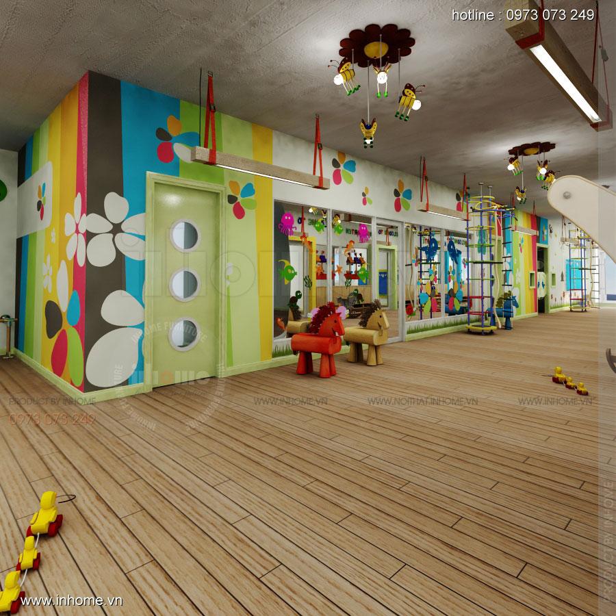 Thiết kế nội thất trường mầm non Đồng Mận Nhỏ 25