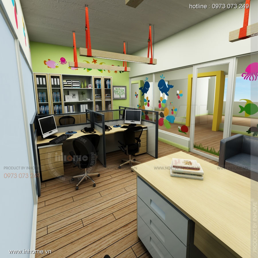Thiết kế nội thất trường mầm non Đồng Mận Nhỏ 29