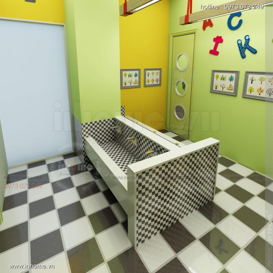 Thiết kế nội thất trường mầm non Đồng Mận Nhỏ 31