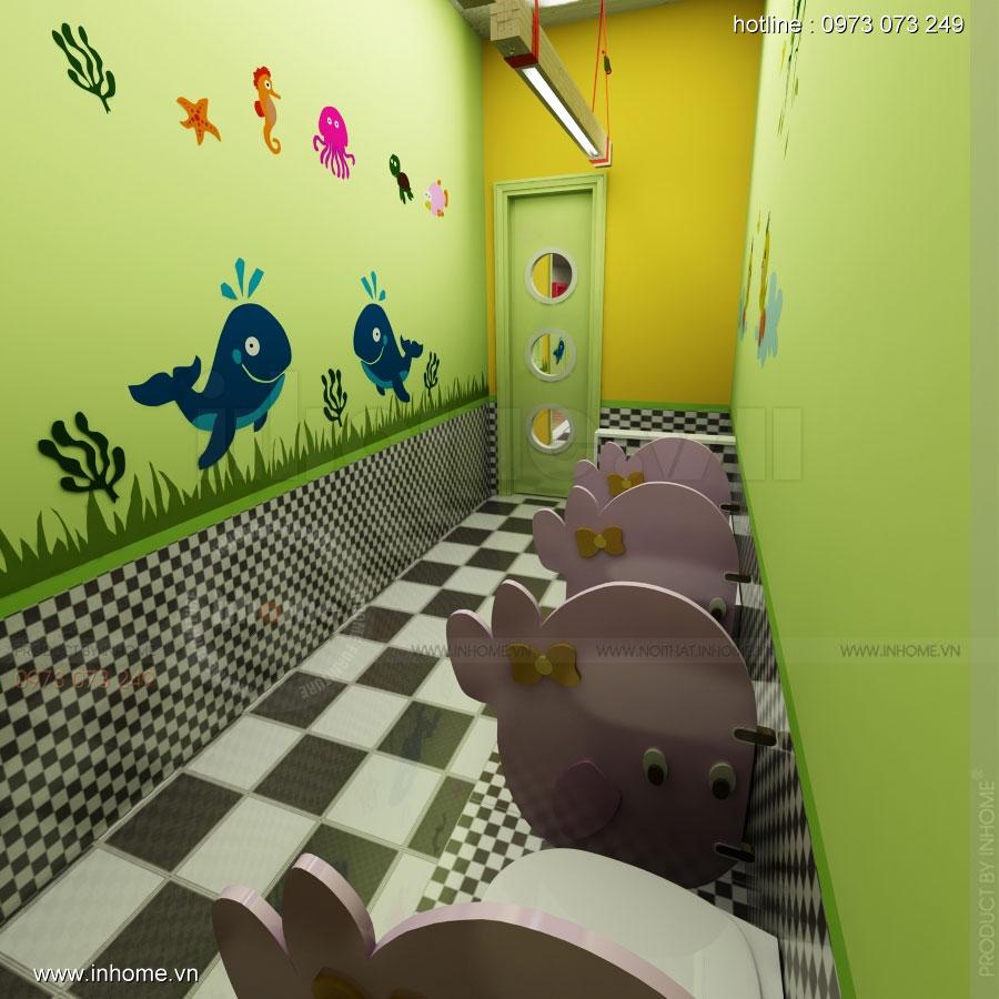 Thiết kế nội thất trường mầm non Đồng Mận Nhỏ 32