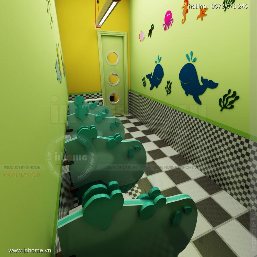 Thiết kế nội thất trường mầm non Đồng Mận Nhỏ 33