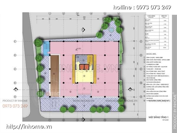 Thiết kế siêu thị Thống Nhất Plaza 08