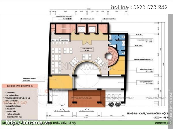 Thiết kế khách sạn Cầu Đông 04