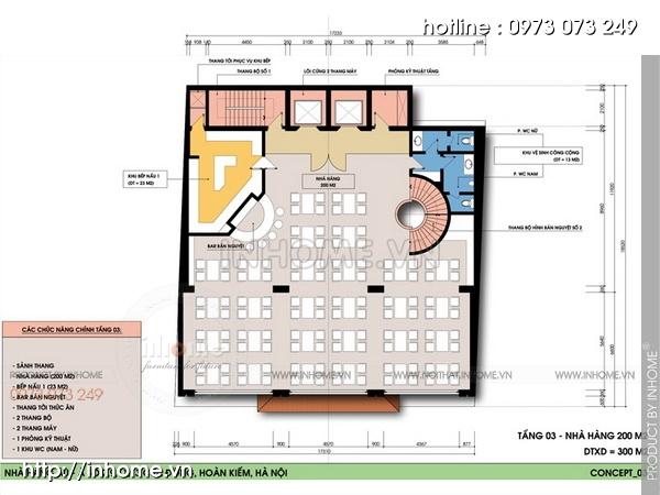 Thiết kế khách sạn Cầu Đông 05