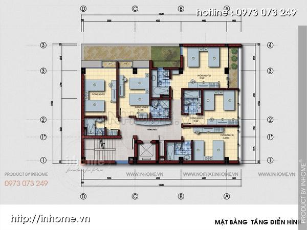 Thiết kế khách sạn hiện đại, sang trọng và độc đáo 04