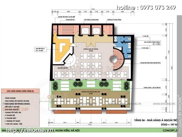 Thiết kế khách sạn Cầu Đông 06