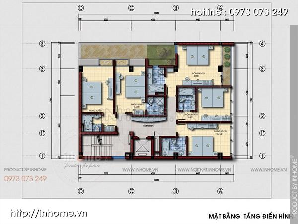 Thiết kế khách sạn hiện đại, sang trọng và độc đáo 05