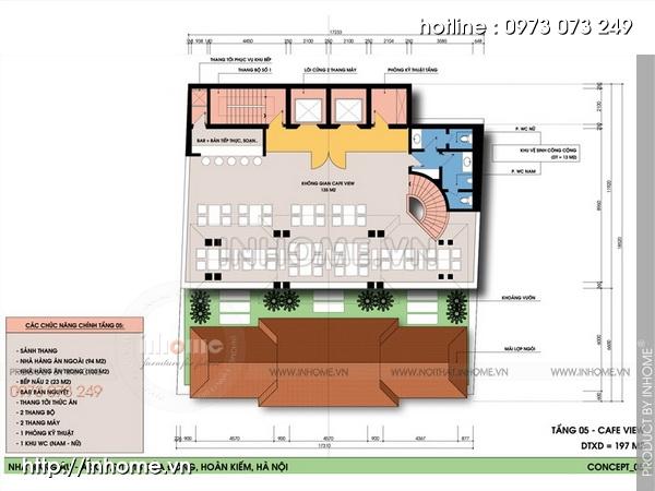 Thiết kế khách sạn Cầu Đông 07