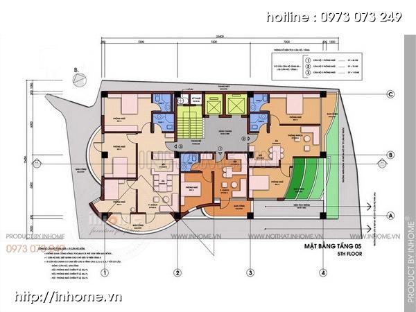 Thiết kế chung cư sinh thái 06