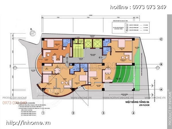 Thiết kế chung cư sinh thái 07