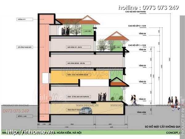 Thiết kế khách sạn Cầu Đông 10