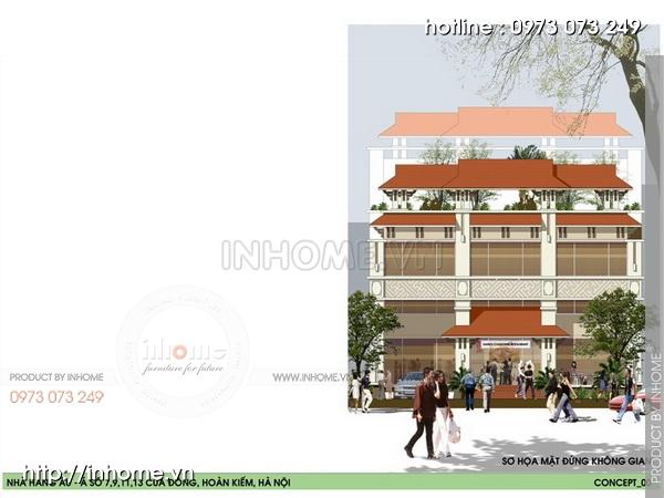 Thiết kế khách sạn Cầu Đông 11
