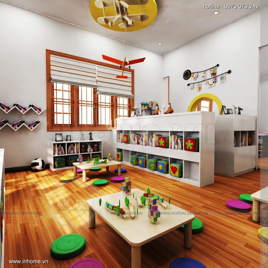 Thiết kế nội thất trường mầm non Ngôi Sao - TP Nam Định 9