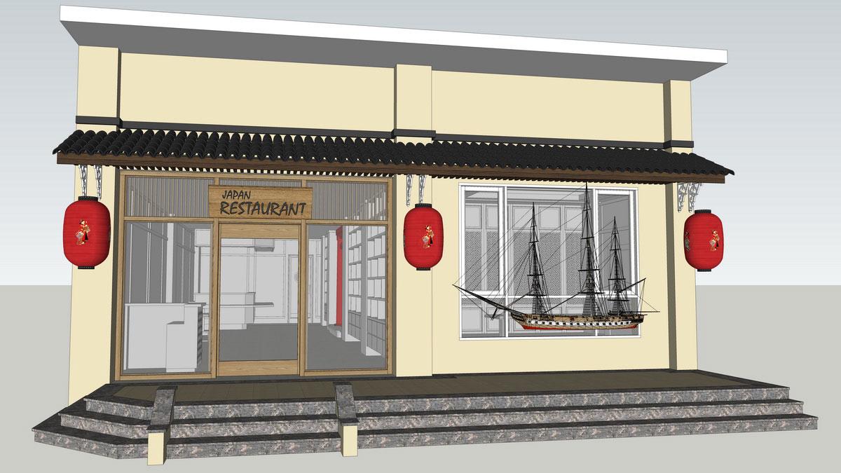 Thiết kế nhà hàng nhật Kaminuma 15