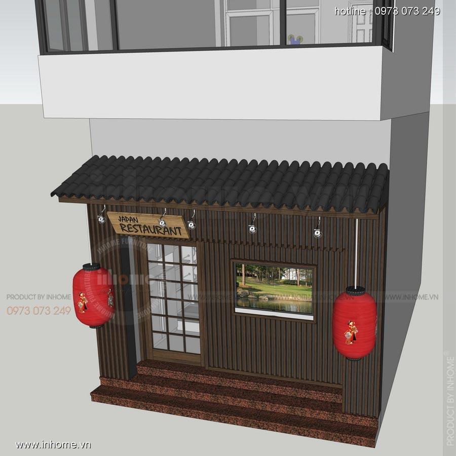 Thiết kế nhà hàng Nhật 28