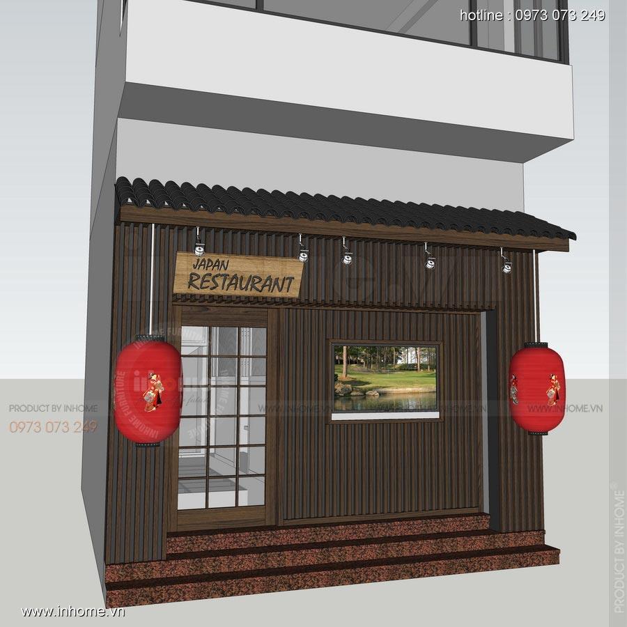Thiết kế nhà hàng Nhật 29