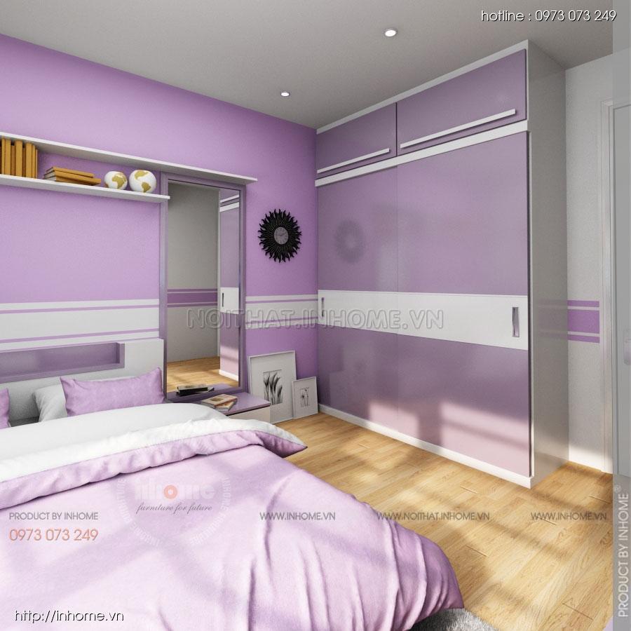 Thiết kế nội thất chung cư Residential 12