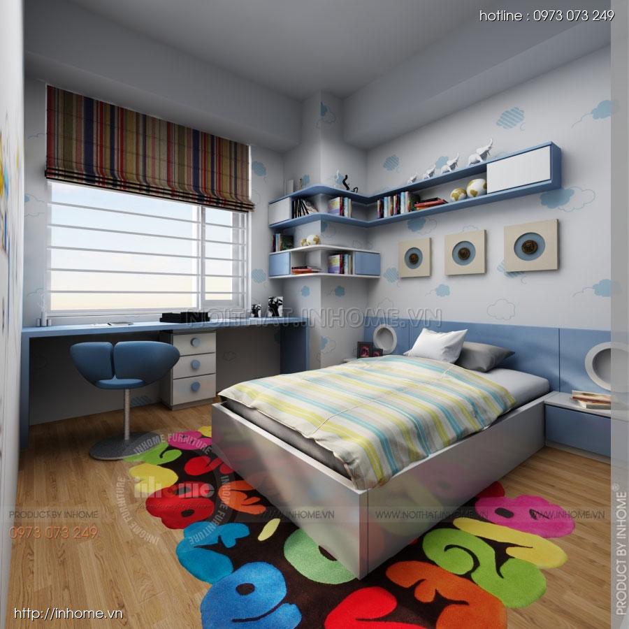 Thiết kế nội thất chung cư Residential 14