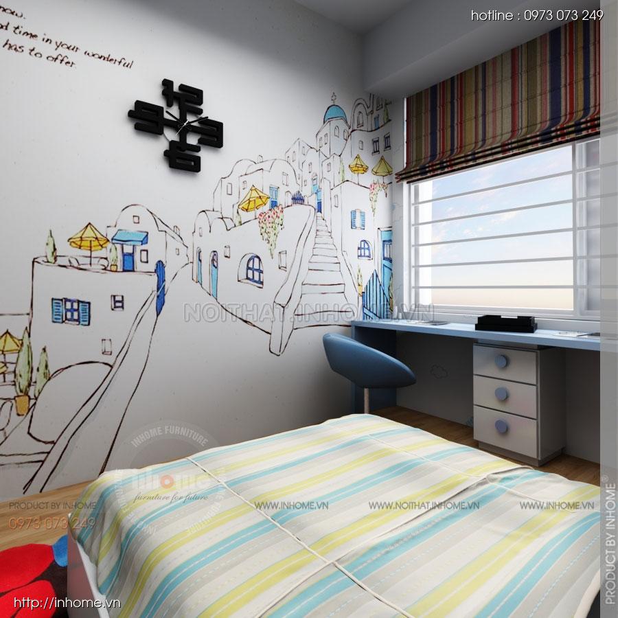 Thiết kế nội thất chung cư Residential 16