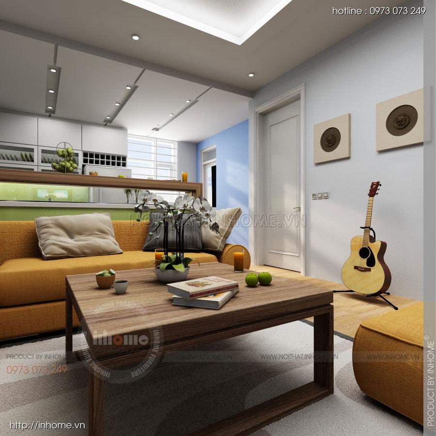 Thiết kế nội thất chung cư Residential 02