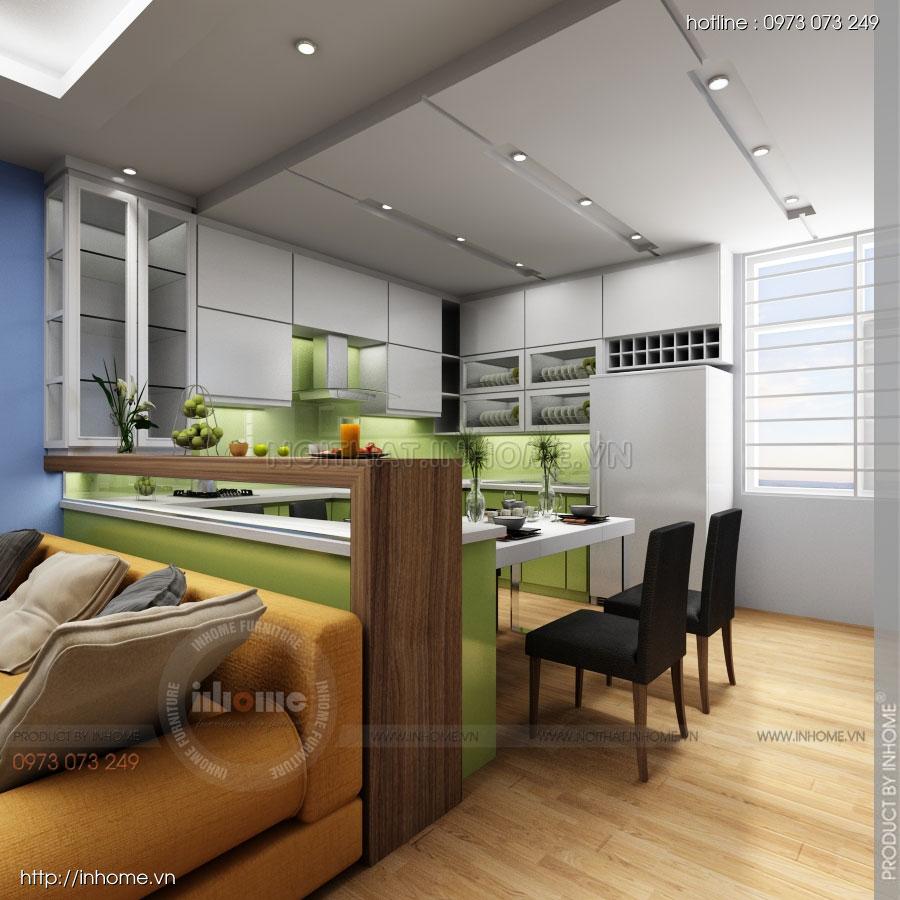 Thiết kế nội thất chung cư Residential 05