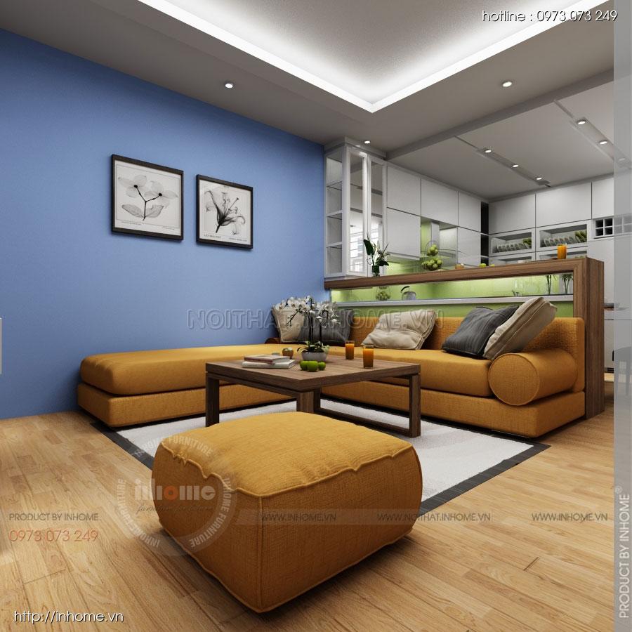 Thiết kế nội thất chung cư Residential 06