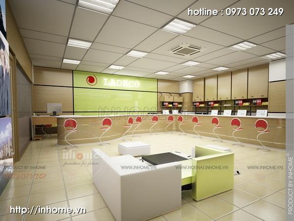 Thiết kế nội thất văn phòng LADECO 03