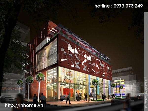 Thiết kế siêu thị Thống Nhất Plaza 21