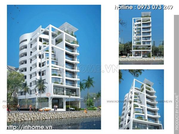 Thiết kế chung cư sinh thái 11