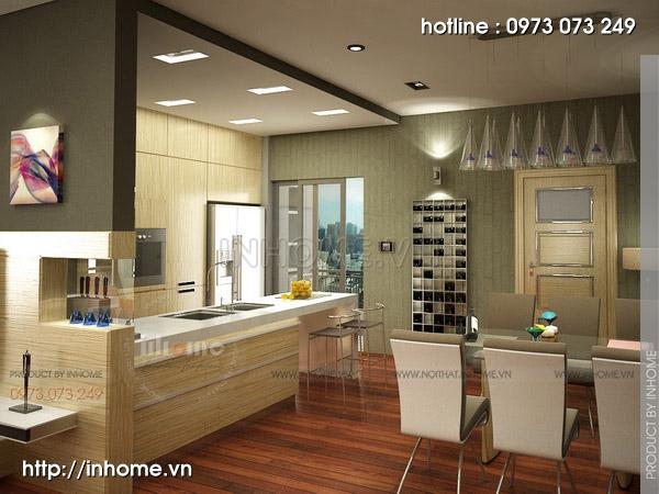 Thiết kế nội thất chung cư Trường Chinh 04