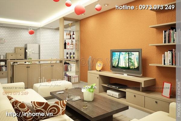 Thiết kế nội thất chung cư A1 Mỹ Đình