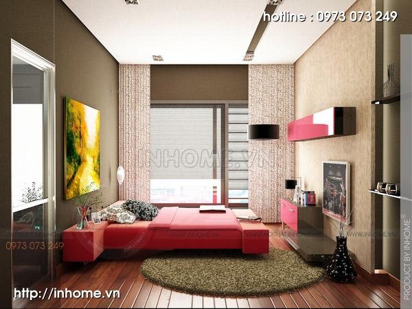Thiết kế nội thất chung cư Trường Chinh